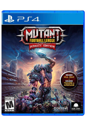 [PS4]  Mutant Football League: Dynasty Edition R1