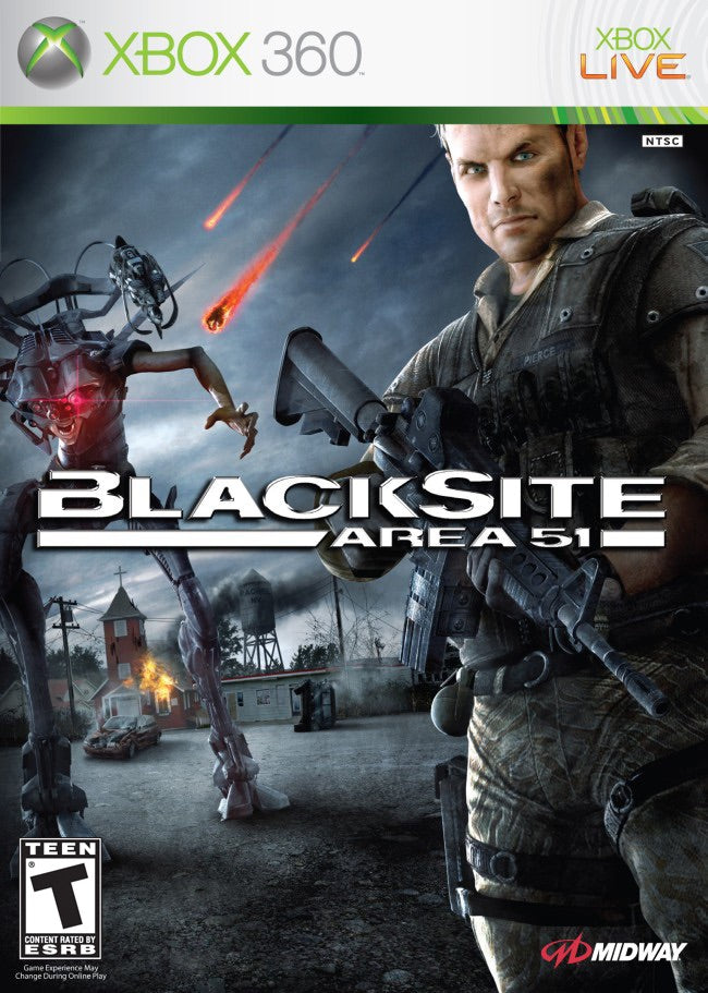 [Xbox 360] Blacksite Area 51- R1