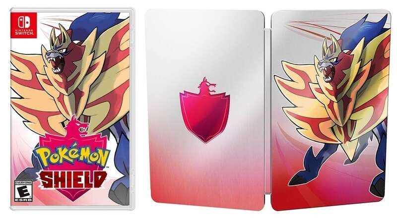 [NS] Pokemon Shield (With SteelBook)