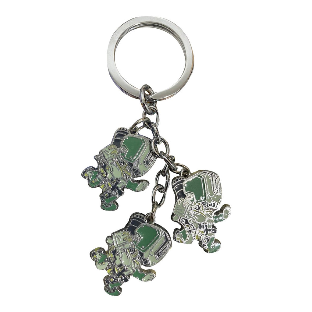 Overwatch Bastion Keychain