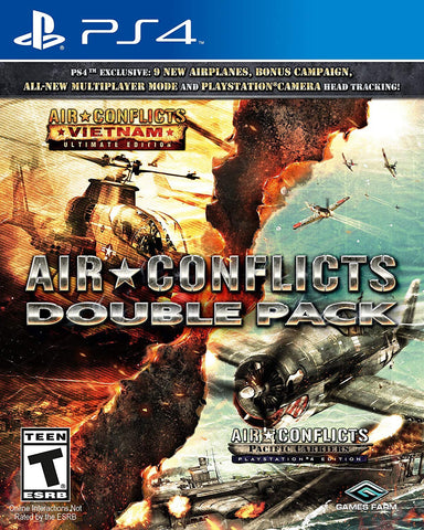 [PS4] Air Conflicts Double Pack R1