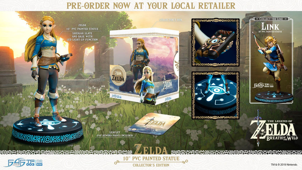 The Legend Of Zelda Collector's Edition Figure (LED)