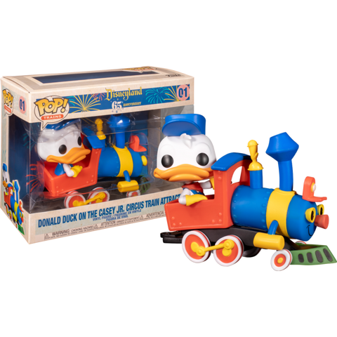 Funko Pop Disney Donald Duck on the Casey Jr. Circus Train Attraction