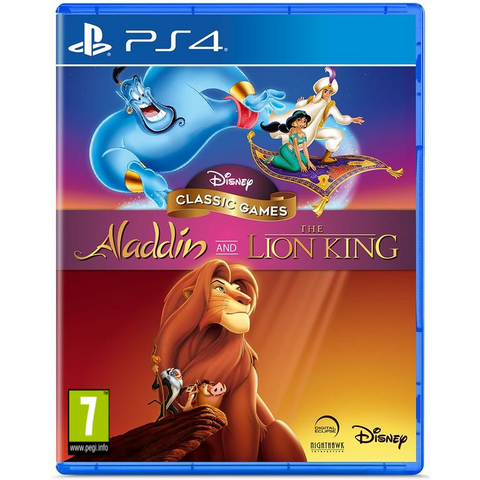 [PS4] Aladdin And The Lion King R2