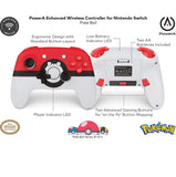 Nintendo Switch Enhanced Wireless Controller Pokemon (Red)