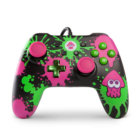 PowerA Wired Controller for Nintendo Switch Splatoon 2