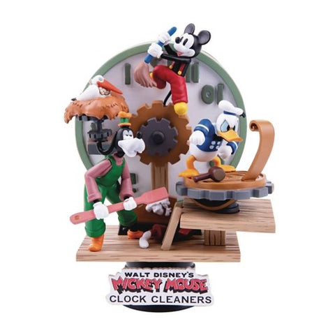 Disney Clock Cleaners D-Stage Figure