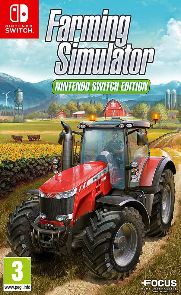 [NS] Farming Simulator Nintendo Switch Edition R2