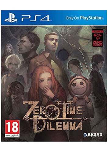 [PS4]  Zero Time Dilemma R2