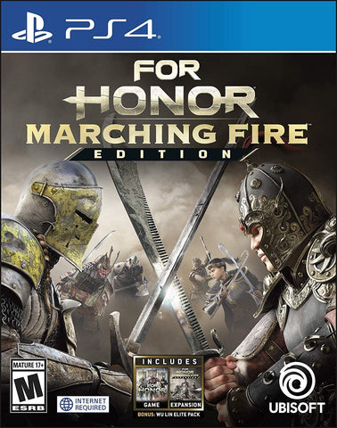 [PS4]  For Honor Marching Fire Edition R1