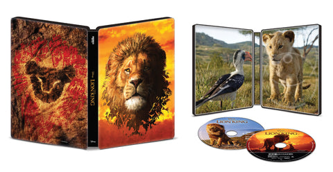Disney The Lion King Steelbook [4K Ultra HD]