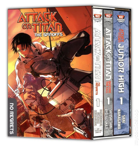 Attack On Titan The Spinoffs Collection