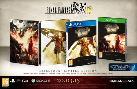 [PS4] Final Fantasy Type 0 HD Limited Steelbook Edition R2