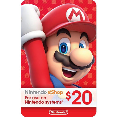 Nintendo eShop $20 (US Account)