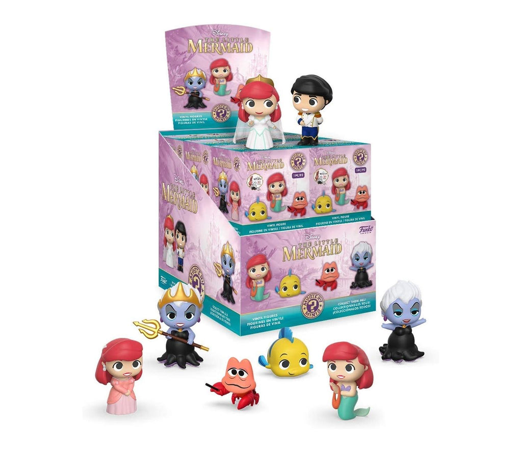 Mystery Minis Figure Disney The Little Mermaid Box (One Piece)