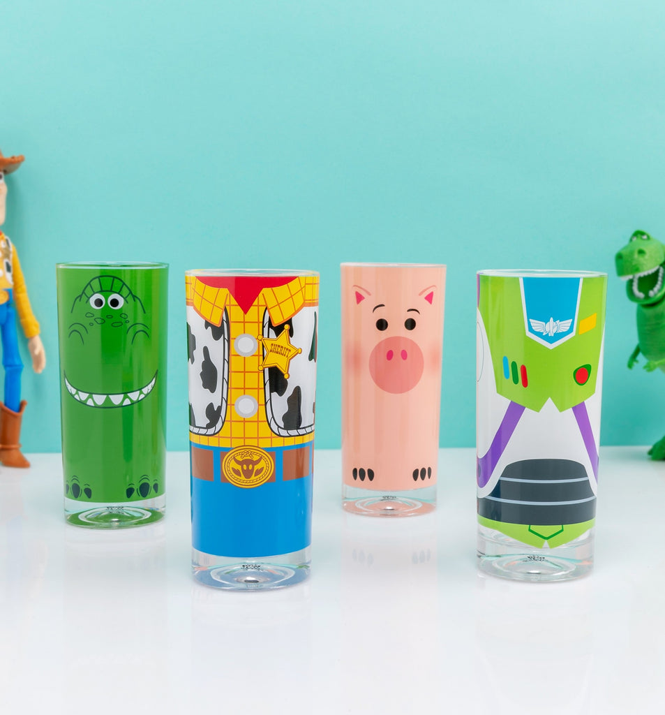 Disney Toy Story 4 Glass Tumbler Set