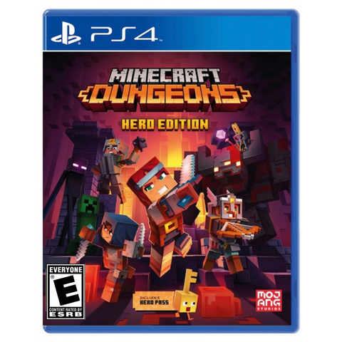 [PS4] Minecraft Dungeons Hero Edition R1