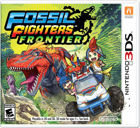 [3DS] Fossil Fighters: Frontier  R1