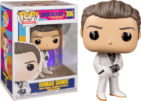 Funko Pop DC Birds of Prey Roman Sionis