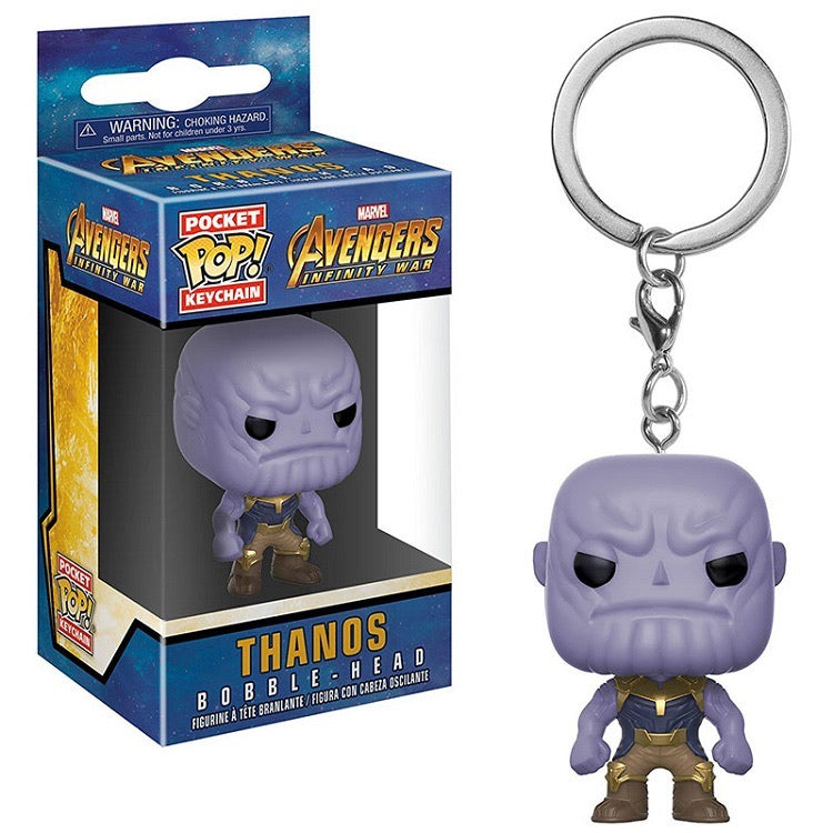 Pop Keychain Avengers Thanos
