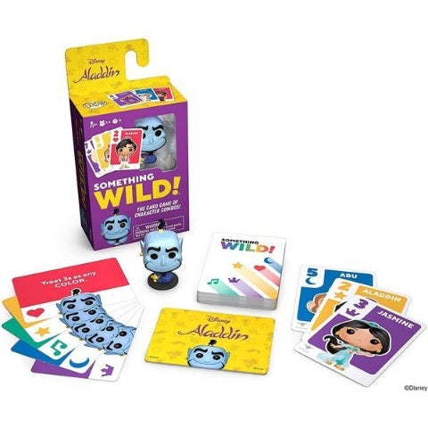 Disney Aladdin Pop Card Games (Something Wild!)