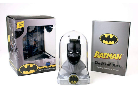 DC Comics Batman Deluxe Cowl Lights up