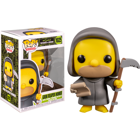 Funko Pop The Simpsons Grim Reaper Homer