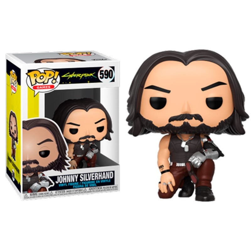 Funko Pop Cyberpunk 2077 Johnny Silverhand
