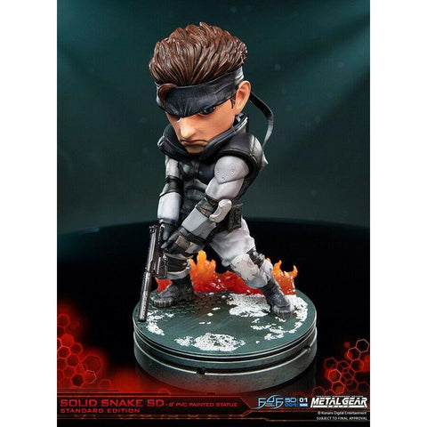 "Metal Gear Solid Snake 8"" PVC SD Figure - Size: 20cm"