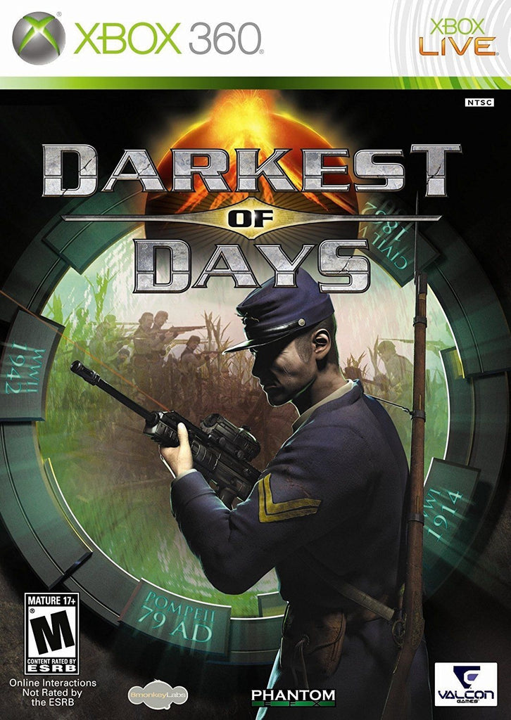[Xbox 360] Darknest of Days R1