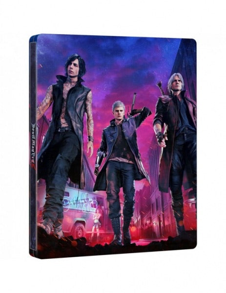 Devil May Cry 5 Limited Steelbook (No Game)
