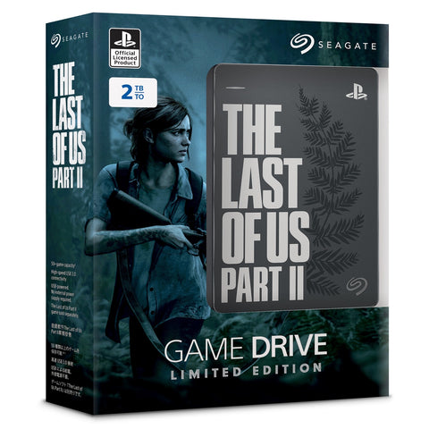 PS4 Seagate Game Drive 2TB The Last Of Us II Limited Edition