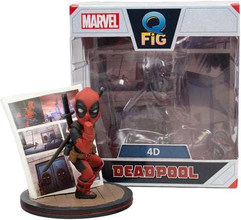 Marvel Deadpool 4D Figure (10cm)