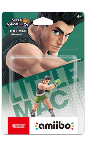 Little Mac amiibo - Japan  (Super Smash Bros Series)