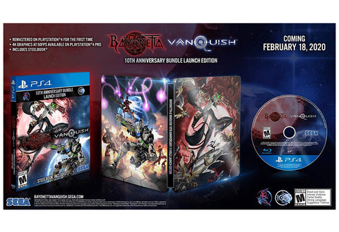 [PS4] Bayonetta & Vanquish 10th Anniversary Edition (SteelBook) R1
