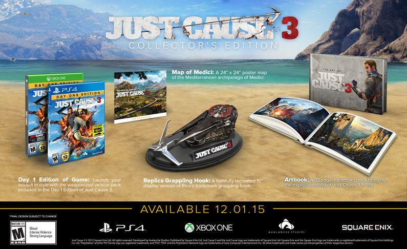 [PS4] Just Cause 3 Collector's Edition R1