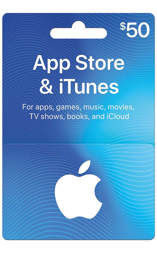 iTunes $50 (US Account)
