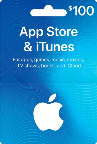 iTunes Card $100 (US Account)