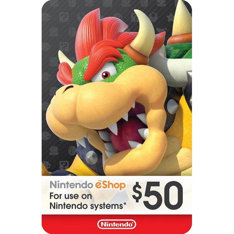 Nintendo eShop $50 (US Account)