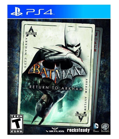 [Ps4] BatMan Return To Arkham R1