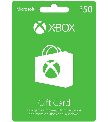 Xbox Live $50 (US Account)