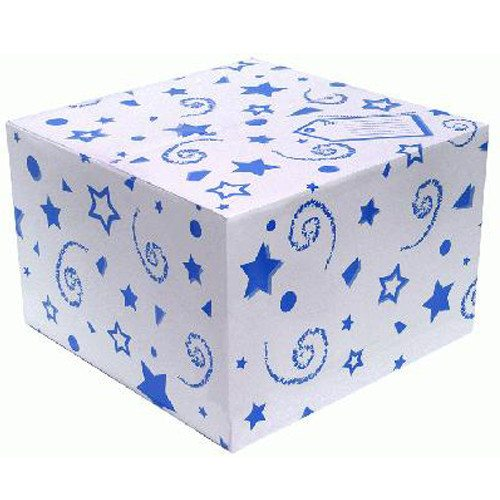 Royal Blue Balloon Box