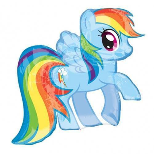 My Little Pony Rainbow Dash SuperShape Balloon