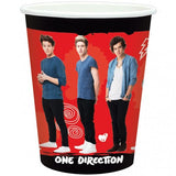 Cups - Child's 1D 8 Pack Of Paper Cups