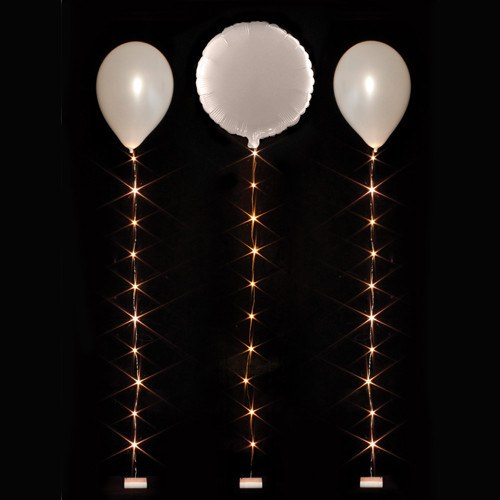 1m Balloonlite 10 Light Set Warm White