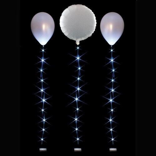 1m Balloonlite 10 Light Set White