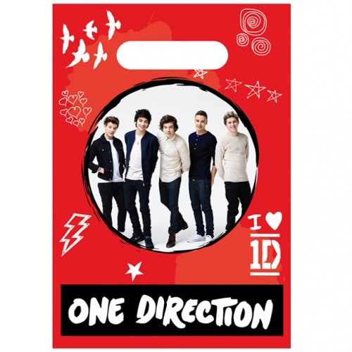 Child's 1D 8 Pack of Party Bags