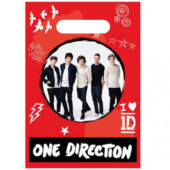 Loot Bag - Child's 1D 8 Pack Of Party Bags