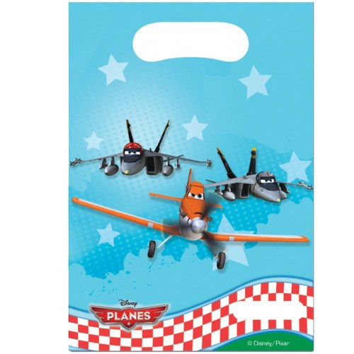 Child's Disney Planes 6 Pack of Party Bags