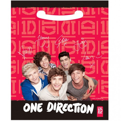 Child's One Direction 8 Pack of Party Bags